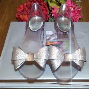 Stuart Weitzman Jelly-Bow Shoes